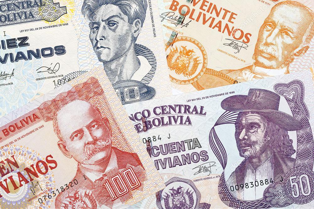 compra y venta de peso boliviano