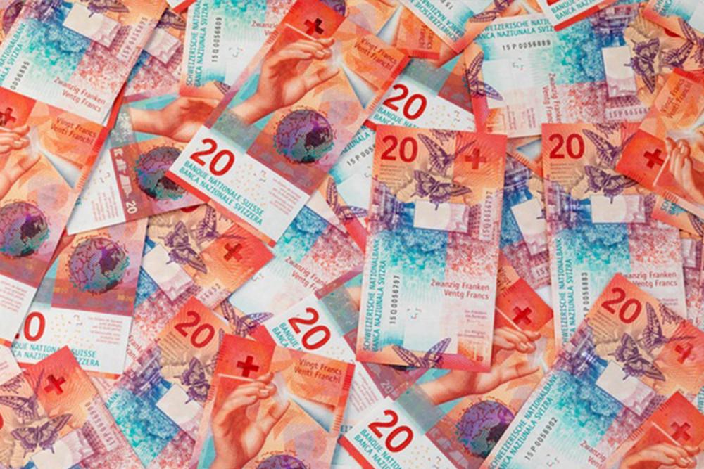 compra y venta de francos suizos