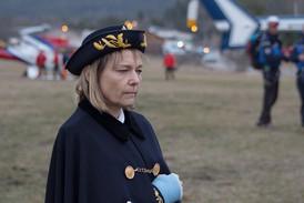 Prefect Patricia Willaert at Germanwings