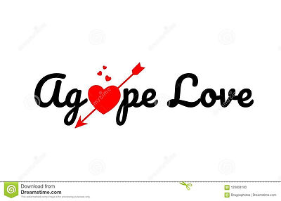 agape-love-word-text-typography-design-l