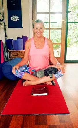 Yoga%20puppy%20enjoys%20relaxation.%20%20As%20the%20class%20finishes%2C%20%20Percy%20the%20poodle%20