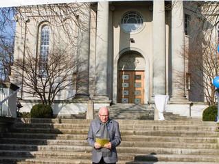 Informationsveranstaltung bei der grossen Kirche Fluntern mit Wetterglück