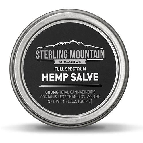 600mg Hemp and Medicinal Herb Salve - 1oz