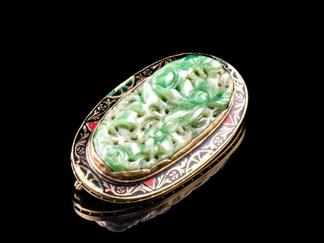 14kt+Art+Deco+Enameled+Jade+brooch.jpg