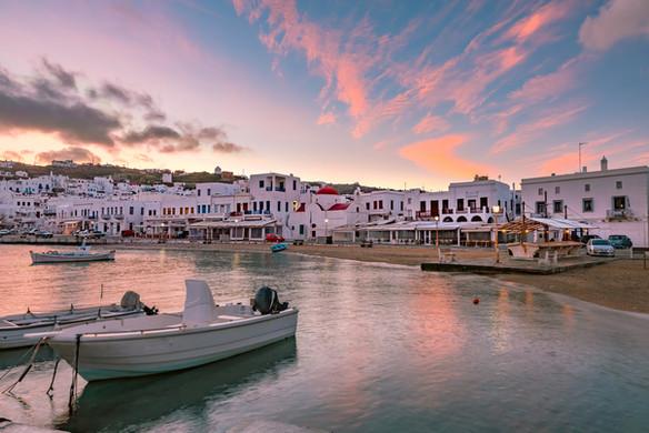 bigstock-Old-Port-Of-Mykonos-City-Chor-3