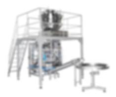 SPT 10 Contínua - Envasadora automática vertical contínua com cabeçote múltiplo