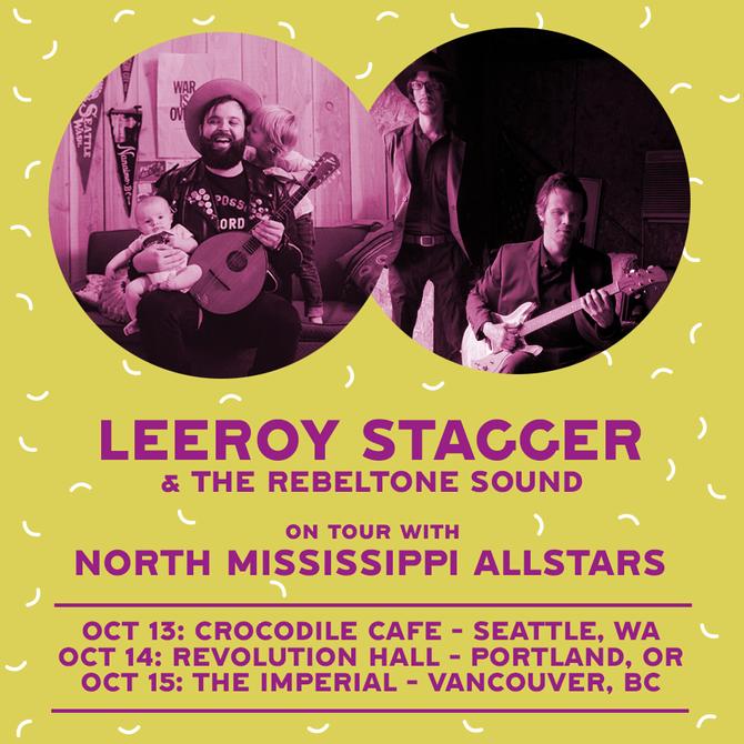 Tour dates w/ North Mississippi Allstars