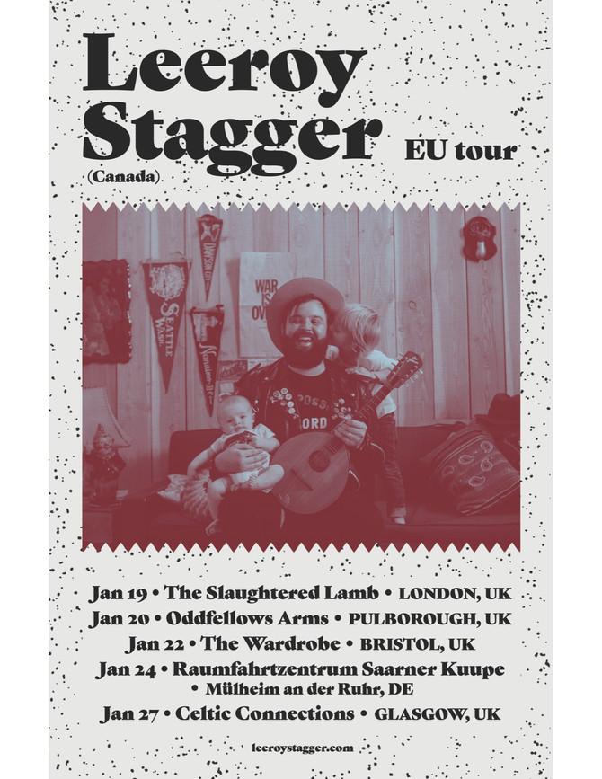 Leeroy Stagger European Tour