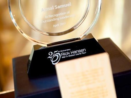 Rick Hansen Foundation – Difference Maker Award