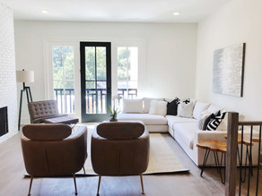 Nordic Style Used to Stage Luxury Buckhead Home