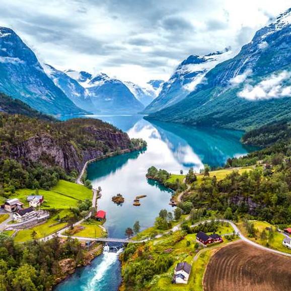 Norway Fjords Hurtigruten + Snow Hotel + Oslo + Bergen