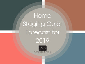 Home Staging Color Forecast for 2019