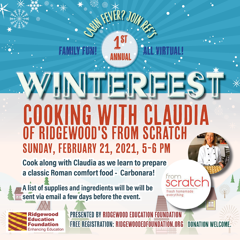 Cooking with Claudia of Ridgewood's From Scratch