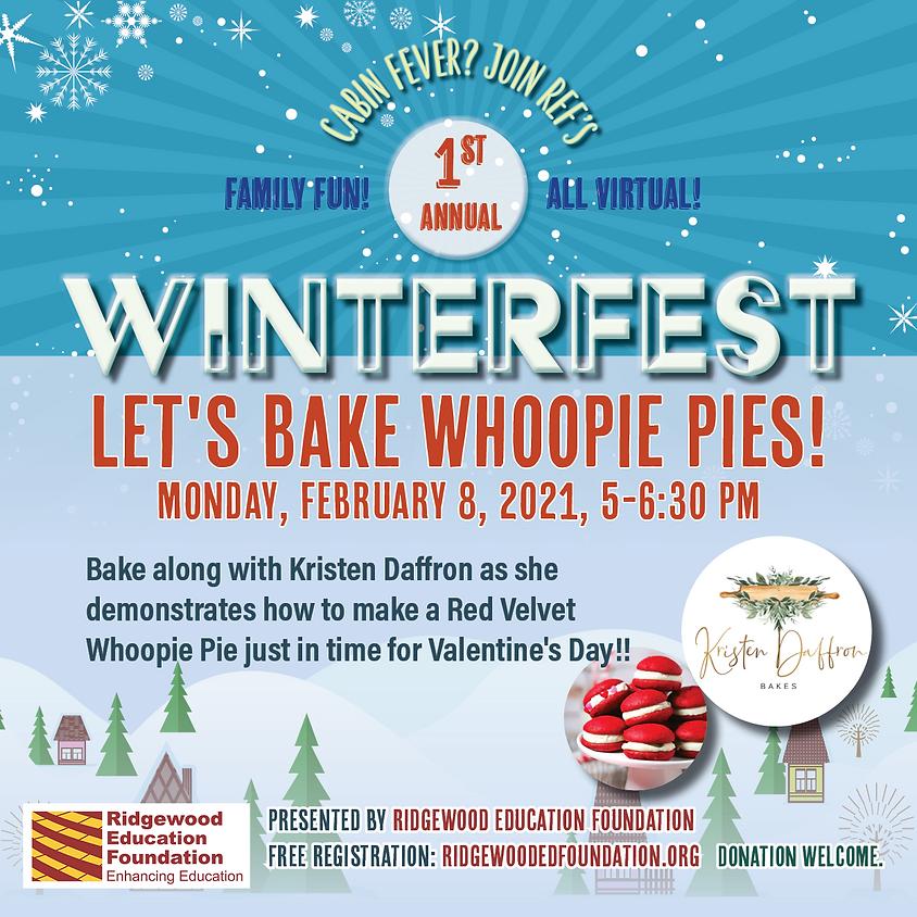 Let's Bake Whoopie Pies! With Kristen Daffron