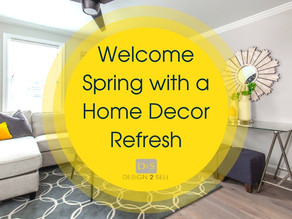Welcome Spring with a Home Décor Refresh