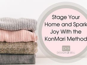 Stage Your Home and Spark Joy with The KonMari Method