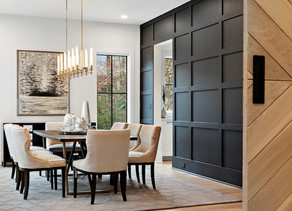 Creating a Sophisticated but Comfortable Design in a Garden Hills Home