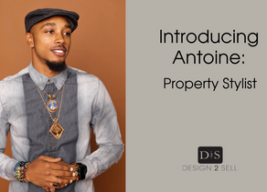 Introducing Antoine Brown, Property Stylist