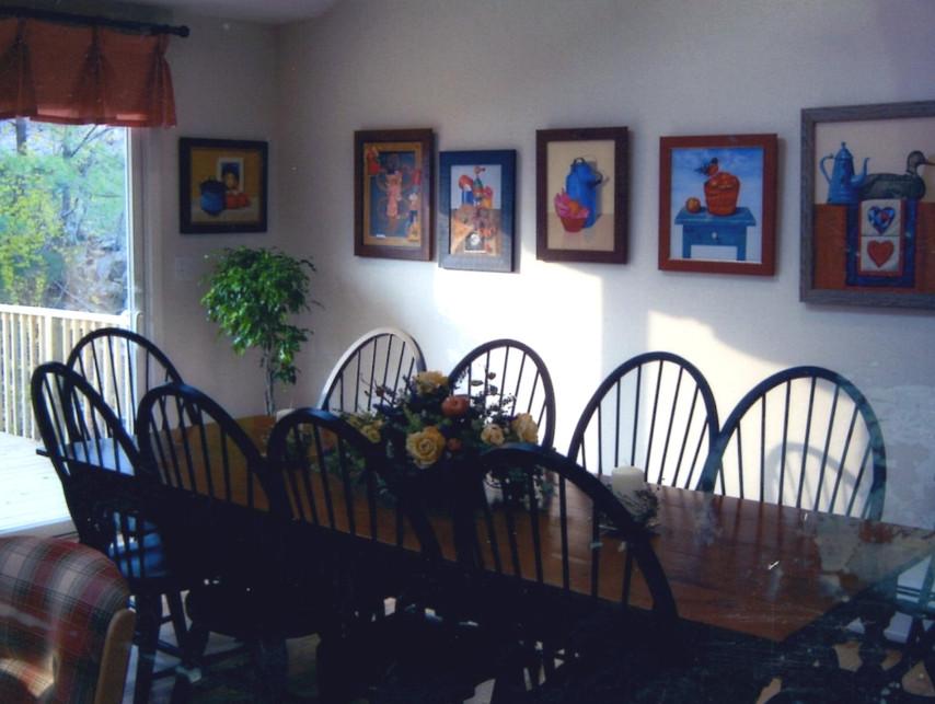Folk Art Kitchen