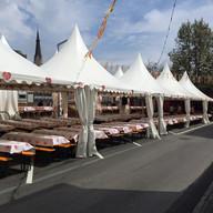 Catering mit Zelt für Kirchtag