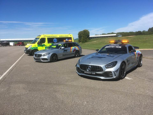 F1 Safety Car and Medical Car