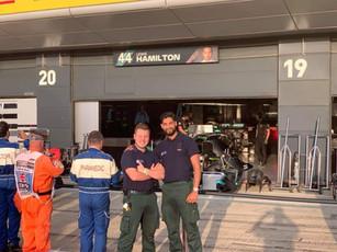 Mercedes AMG Lewis Hamilton Garage