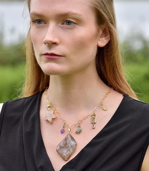 Cosmic Goddess Necklace