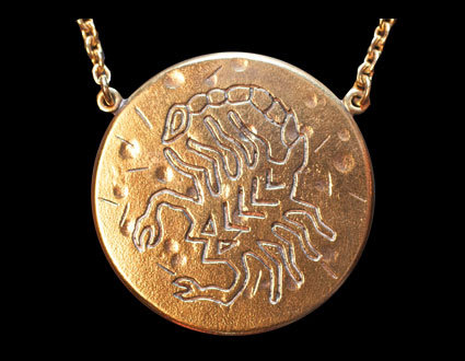 Astrology Necklace - SCORPIO
