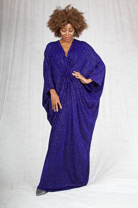 Dark Purple Sparkle Caftan