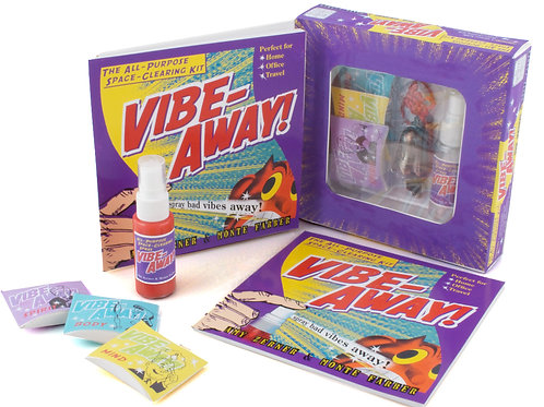 Vibe-Away! The All-Purpose Space-Clearing Kit