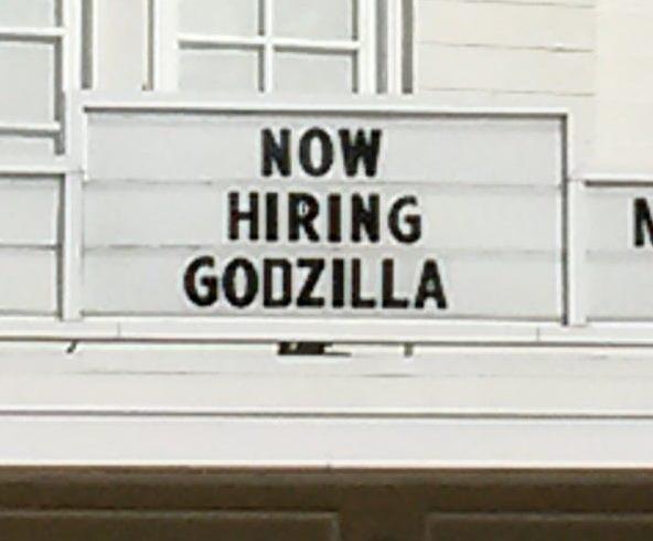 Hire Your Inner Godzilla