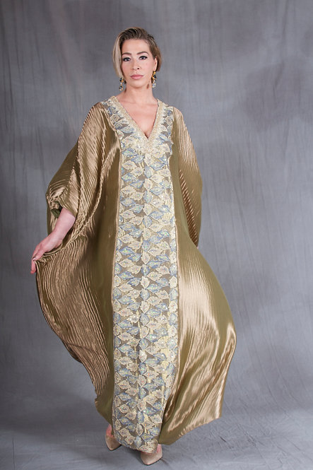 Golden Goddess Caftan