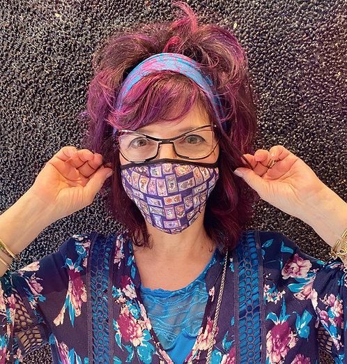Enchanted Tarot Face Mask