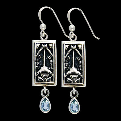 ACE OF SWORDS EARRINGS