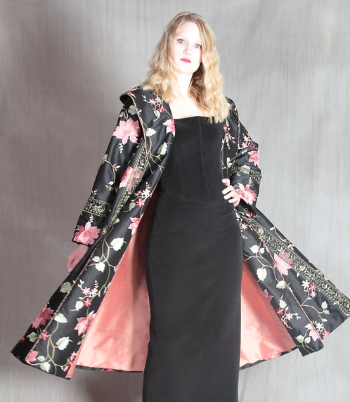 Midnight Garden Coat