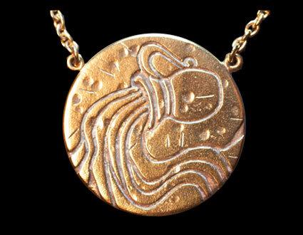 Astrology Necklace - AQUARIUS