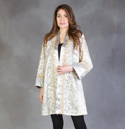 Ivory & Gold Sequin Jacket