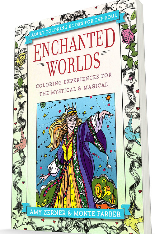 Enchanted Worlds Coloring Book