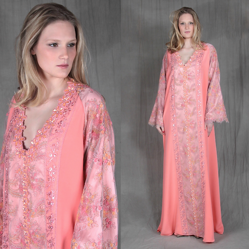 Peach Passion Caftan