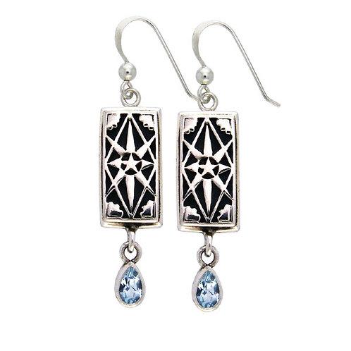 Ace of Pentacles Earrings - Prosperity