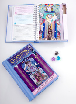 Goddess Guide Me set-up