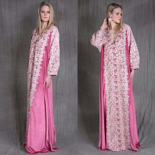 Roses and Lace Caftan