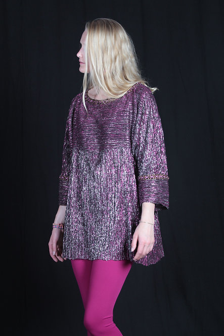 Iridescent Plum Tunic