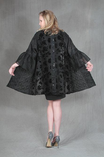 Black Lacey Jacket