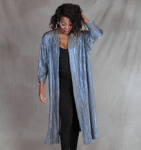 Blue Iridescent Jacket