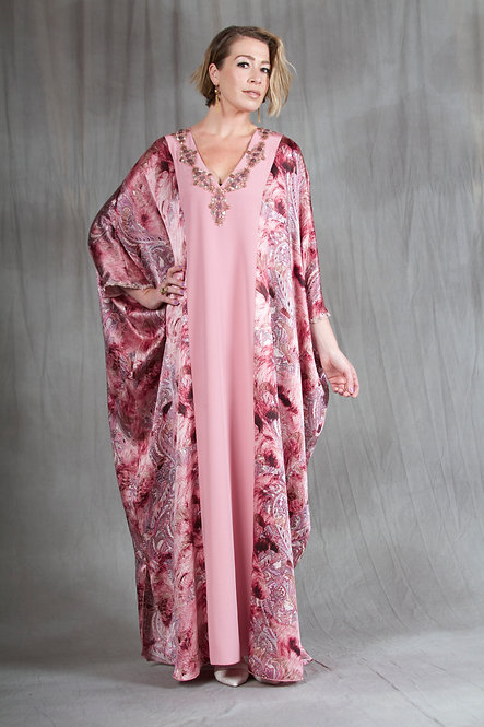 Dusty Rose Caftan