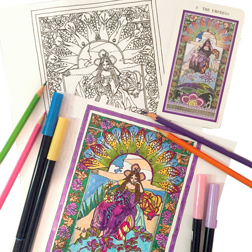 Part Of The Coloring Books For Soul Series A Dazzlingly Beautiful Adult Book Filled With Magical Mystical Imagery That Celebrates