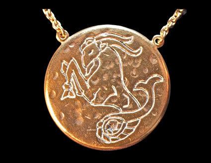 Astrology Necklace - CAPRICORN
