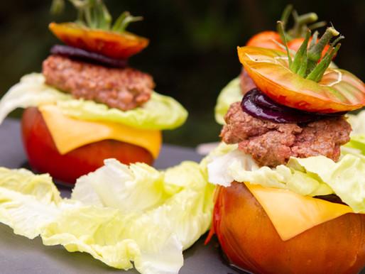Tomates farcies façon hamburger