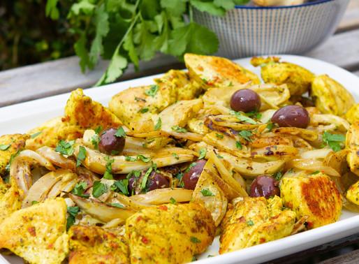 Poulet curry, fenouil et lait de coco